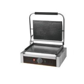 Electric Panini Single Full Flat Contact Grill