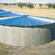 Silo Roof Replacement for Concrete Tanks