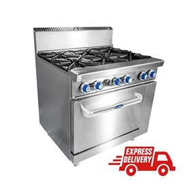 Gas 6 Burner with Oven – ATO-6B-F