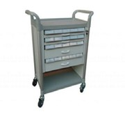 Modular Utility Trolley Small Compartment Drawers