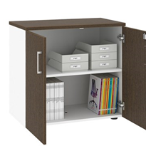 2 Door Small Storage Cupboard With Small Doors