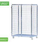 STURGO Security Single Roll Cage Laundry Trolley | 18300036