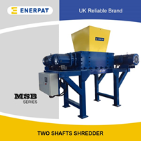 Scrap Tyre Shredding Machine - Enerpat