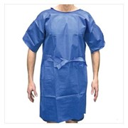 Disposable Hospital Gown | Easy-Wrap No-Gap