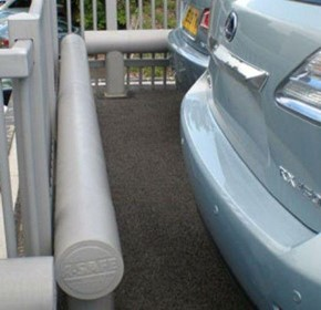 Best in class perimeter protection for luxury Lexus car park