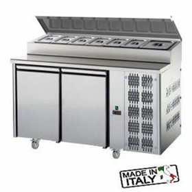 Mastercool 2 Door Undercounter Pizza/Salad Prep Fridge