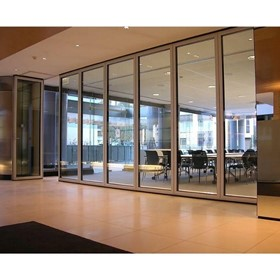Glass Partition & Wall I Operable Glasswall 5600