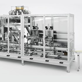 HVM, Horizontal Bag Closing Machine