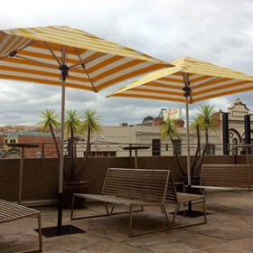 UV Umbrellas | Cafe' Series Centre-post Umbrella