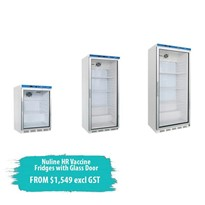 HR Vaccine Fridge with Glass Door