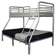 Combi Bunk Bed - Single over Double