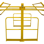 Double Acting & Rotating Pallet Safety Gates | Powder Coated