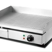Hargrill Electric Griddle Ribbed Single Burner