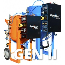 Dustless Sandblasting | GEN II SD140