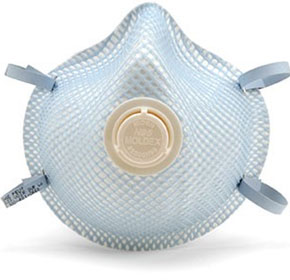 P2 Disposable Valved and Unvalved Respirators | Moldex