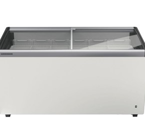 Liebherr EFI 4853 Curved Sliding Glass Lid Chest Freezer