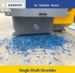 Enerpat Economic Single Shaft Shredder Manufacturer for Plastic Drum