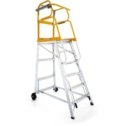 Mobile Platform Ladder - Tracker Pro