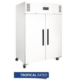 2 Door Upright Freezer 1200Ltr White - DL897-A