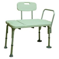 Shower Transfer Bench with Backrest
