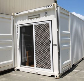 Self-contained Accommodation Container