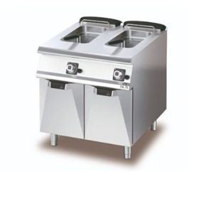 Gas Deep Fryer – Double Pan – Gas 2 x 15lt Pans 2 x Bas -D7415/10 FRG