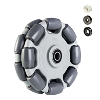 125mm Double (R2) Wheels | Rotacaster Omni-Wheels Multi Directional