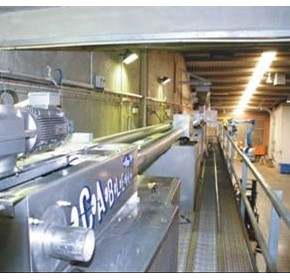 Easy does it: Almondco installs Cablevey Almond Conveyor System
