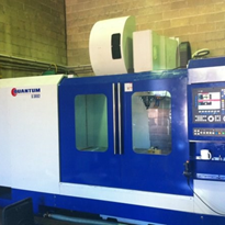 Used Quantum Machining Centre 2000mm x 890mm x 870mm