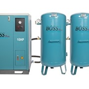 BOSS - 48CFM/ 10HP Silent Air Compressor(440L) - BQT50P-220L