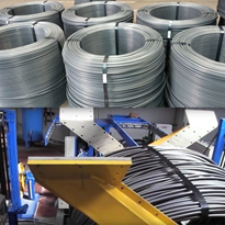 Automatic Steel Bundling Machine - Wire Rod Bundling