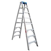 Aluminium Double Sided Step Ladder 120 kg 8ft 2.4m | GORILLA