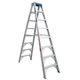 Aluminium Double Sided Step Ladder 120 kg 8ft 2.4m