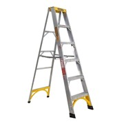Aluminium Single Sided Step Ladder 150 kg 6ft 1.8m | GORILLA