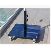 Umbrella Accessories -35kg Flat Base Plate with Wheels Cafe Series