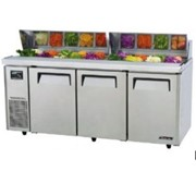 Austune Turbo Air Salad Prep Table – 3 Doors Side Unit- KHR18-3