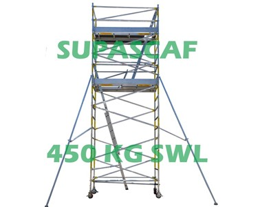 May Scaffold Special | EASYSCAF 6.2M 2 level Mobile Scaffold