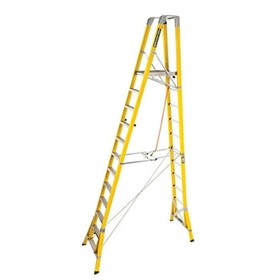 WorkMaster Fibreglass Step Platform Ladder | FPL 3.6