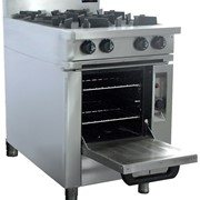 4 Burner Cooktop w/ Gas Oven