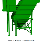MAK Water | Inclined Plate Clarifier System | Lamella Clarifier