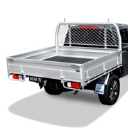 Dual Cab Alloy UTE Tray | L 1885 x W 1980mm - Ultimate