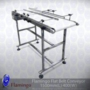 Flamingo Flat Belt Conveyor Wide | EFCF-400-1500
