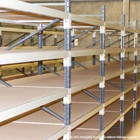 Open Span Shelving | 2000H x 1200W x 600D Particle Board Initial
