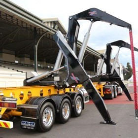 Dual Carriage Swinglift Side Loader HC4020-DC-LO