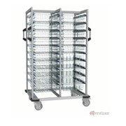 IntraSpace - 2-Section Open Transport Trolley - IMCT220