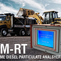 Introducing the new dPM-RT Real-time Diesel Particulate Analyser