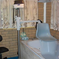 Indoor Bath or Spa Access Hoist