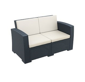 Monaco Lounge Sofa | Outdoor Resin Rattan