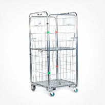 Stock Distribution Roll Cage Trolley | Retailquip