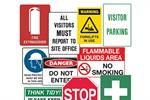 Signet's Own Safety Sign Range